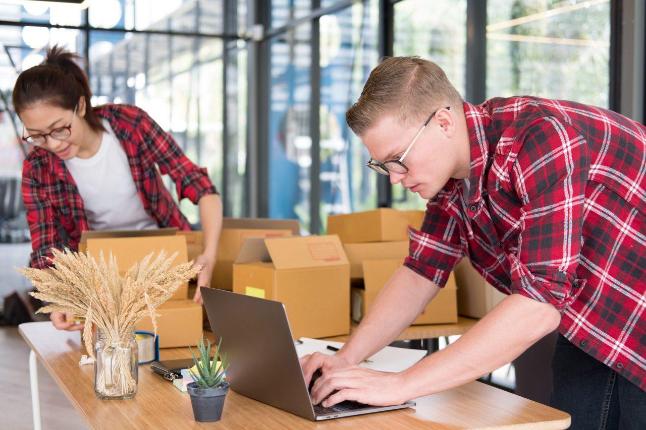 Webshop - inpakken bestellingen